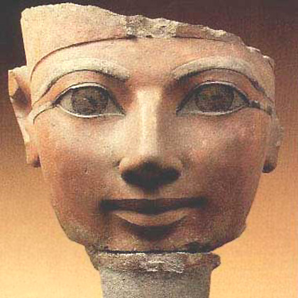 Hatshepsut - the queen who became pharao - had already as crown-princess the official title 'Pharao's Daughter'